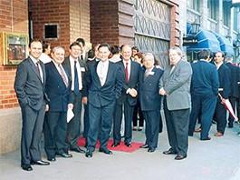Missão empresarial em Oslo, Noruega - 2002