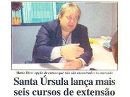 Entrevista para a folha Dirigida em 2003