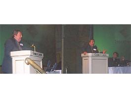 Apresentação especial a 300 empresários escandinavos no Gamle Logen de Oslo/Noruega (2002)