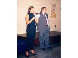 Ínicio de Palestras para 350 empresários de Juiz de Fora - Minas Gerais - 2003