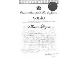 Homenagem da Assembléia Legislativa do Rio de Janeiro - 2001
