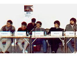 Reunião de Presidentes Nacionais da Aiesec em Gotemburgo/ Suécia - 1988