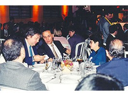 Cerimônia de Premiação por Projeto Editorial da Petrobras – ABERJE – São Paulo/Brasil (1995)