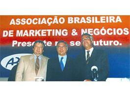 Posse no Conselho Diretor  da Associação Brasileira de Marketing & Negócios -– Rio de Janeiro/Brasil (1999)