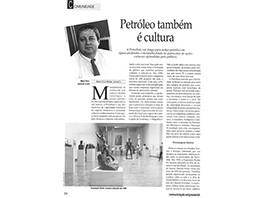 Entrevista sobre projetos culturais - 1996