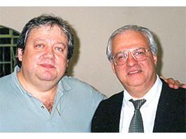 Mario Divo e Claudio Furtado, fundador da AIESEC do Brasil - 2001