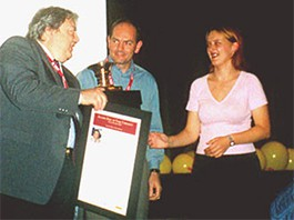 Condecoração Hall of Fame – Belgrado/ Servia e Montenegro (2003)