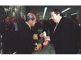 Diplomação pelo EMFA - Estado Maior das Forças Armadas – Brasília/Brasil (1998)